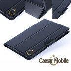 Etui w kolorze czarnym pokrowiec z klapką firmy Caesar Mobile do MODECOM FREETAB 7003 HD+ X2