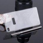 Pokrowiec na tył o grubości 0.3mm etui transparentne z folią do HUAWEI ASCEND P8