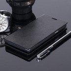 Pokrowiec otwierane w bok porftel etui czarne do PENTAGRAM REBEL 4.7 P470-1