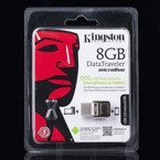 MICROUSB PENDRIVE KINGSTON 8GB OTG USB 2.0 DTDUO